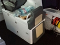 UPHOLSTERY BUNKS AND CUSHIONS (2)
