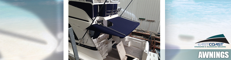 Custom marine awnings Gold Coast