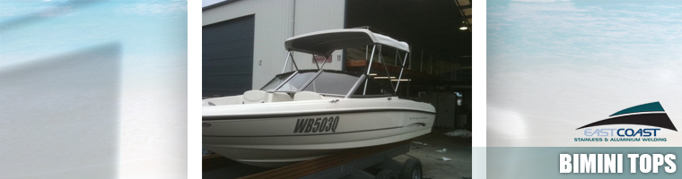 Custom bimini tops Gold coast